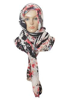 M & S Black Mixed Ladies Scarf