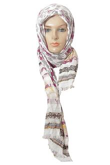 Per Una Grey - Wine Ladies Scarf