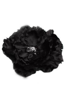 Juelz Black Feather Hair Fascinator