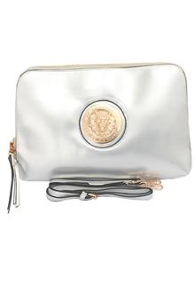 Fashion Silver Ladies Clutch Purse