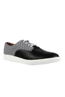 Kurt Geiger Black/White Men's Sneakers