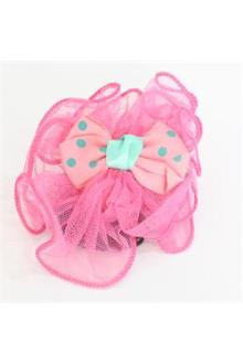 Osanni Pink/Blue Lace Ladies Fashion Hair Clip