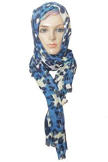 Per Una Blue Mixed Ladies Scarf