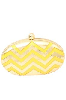 Yellow/Gold Ladies Clutch Purse