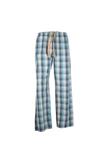 M & S Blue Mix Check Relax Pure Cotton Men's Lounge Wear