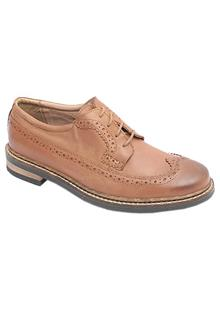 Kurt Geiger Brown Leather Brogues