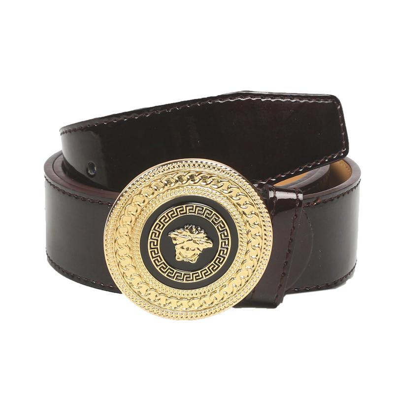 Black Belt Brown Shoes Leather